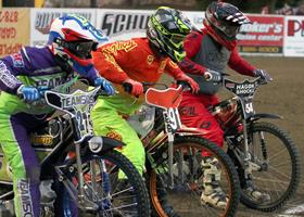 McNutt-King-Shaw - Fast Fridays Motorcycle Speedway