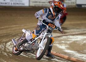 Darren Armbruster - Fast Fridays Motorcycle Speedway