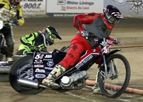 Davey Shaw - Fast Fridays Motorcycle Speedway