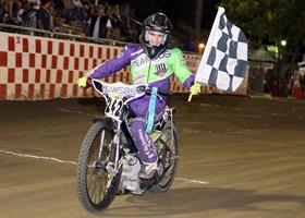 Sammy Tetrault - Fast Fridays Motorcycle Speedway