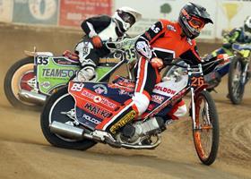 Cameron Krezman - Fast Fridays Motorcycle Speedway
