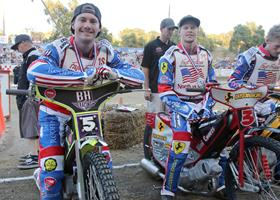 Max & Dillon Ruml - Fast Fridays Motorcycle Speedway