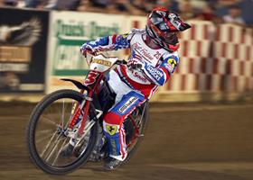 Dillon Ruml - Fast Fridays Motorcycle Speedway