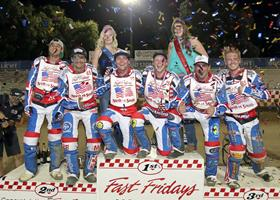 South Team - Fast Fridays Motorcycle Speedway