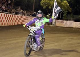 SammyTetrault - Fast Fridays Motorcycle Speedway