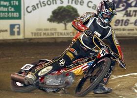 Derik Denzin - Fast Fridays Motorcycle Speedway