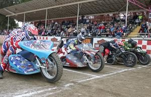 Extreme Sidecar Final - Fast Fridays Motorcycle Speedway