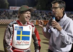 Ricky Kling - Fast Fridays Motorcycle Speedway