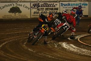AMA FLAT TRACK STARS INVITATIONAL - SATURDAY NIGHT @ Fast Fridays Motorcycle Speedway | Auburn | California | United States