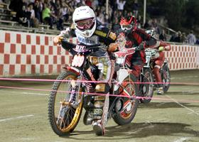 Jeff Powell - Fast Fridays Motorcycle Speedway