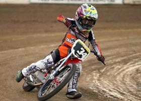 Mike McGrath - Fast Fridays Motorcycle Speedway