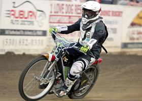 Kyle Cunningham - Fast Fridays Motorcycle Speedway