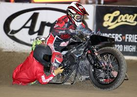 Billy Janniro Sidecar - Fast Fridays Motorcycle speedway
