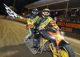 Smylie Kinne-Tetrault - Fast Fridays Motorcycle Speedway