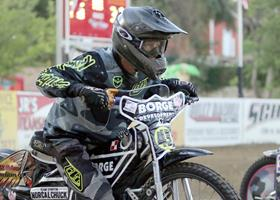Charlie Venegas Start - Fast Fridays Motorcycle Speedway