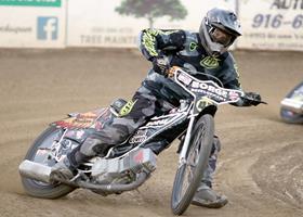 Charlies Venegas - Fast Fridays Motorcycle Speedway