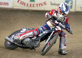 Nick Holhbein - Fast Fridays Motorcycle Speedway
