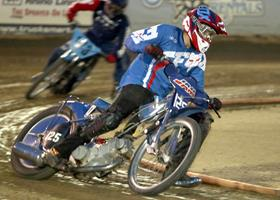 Cody Baugh - Fast Fridays Motorcycle Speedway