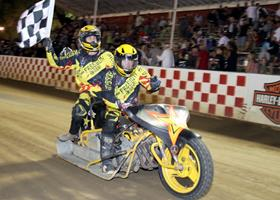 Kinne-Bustos - Fast Fridays Motorcycle Speedway
