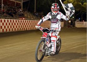 Landon Norton - Fast Fridays Motorcycle Speedway