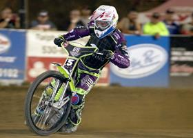 Max Ruml - Fast Fridays Motorcycle Speedway