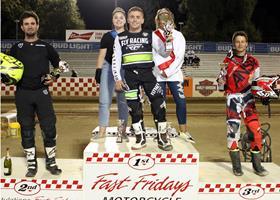 Sam Halbert - Fast Fridays Motorcycle Speedway