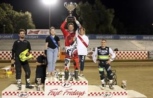 Mike Rush - Fast Fridays Motorcycle Speedway
