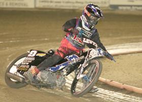 Levi Leutz - Fast Fridays Motorcycle Speedway