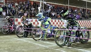 Final Start - Fast Fridays Motorcycle Speedway