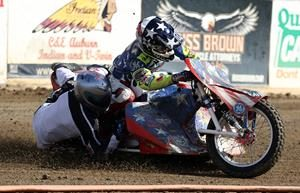 Brian Motis- Eric Hernandez - Fast Fridays Motorcycle Speedway