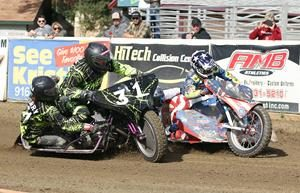 Robert Curry-Chris Jones - Fast Fridays Motorcycle Speedway