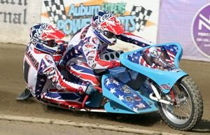 Joe Jones-Josh Flammia - Fast Fridays Motorcycle Speedway