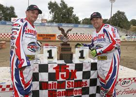 Josh Flammia-Joe Jones - Fast Fridays Motorcycle Speedway