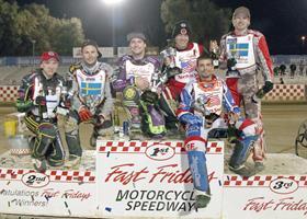 Winning World Team - Fast Fridays Motorcycle Speedway